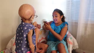 Adalia Rose Presents Humorous Birthday Skit - Video