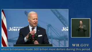 Biden comes from the middle class?