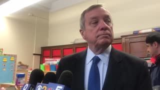 Dick Durbin Says Who He's Working For Full Time — It's Not Americans - Video