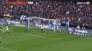 Gol de Coutinho vs Valencia - Video