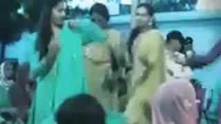 Typical Marriage Dance from Village of Pakistan  - Video