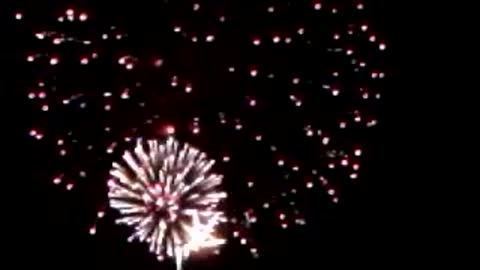 Short Fireworks Video