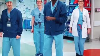 Dr. Jason Campbell is winning the internet with his dance moves