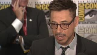 """Avengers"" and ""Ant-Man"" cast unite at Comic-Con - Video"