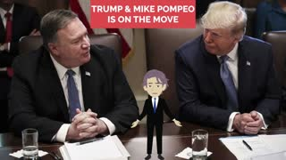 Trump & Mike Pompeo on the Move