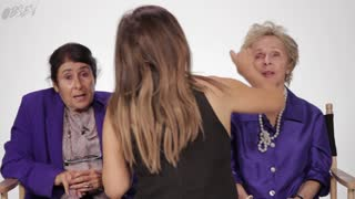 Watch Our Grandmas Get Kardashian Makeovers - Video