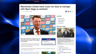 Louis Van Gaal appointed as new Manchester United manager! - Video