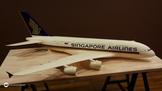 Painting Manila Folder A380 and 777-300ER - Video