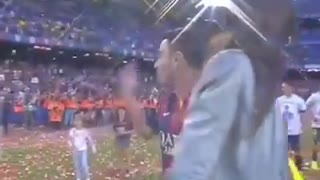 Xavi, sintiendo afortunado - Video