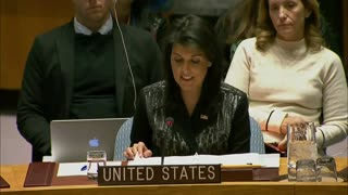 Nikki Haley Stares Down UN and Lets the Entire World Know Where US Stands on Iran Protests - Video