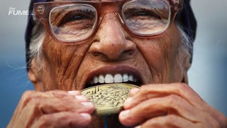101-Year Old Woman WINS GOLD in 100 Meter Race at World Masters Games - Video