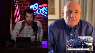 Rudy Giuliani w/ Crowder Breaks Down Vote Irregularities & Outlines Next Steps In 2020 Election