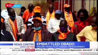 Migori MCAs set to table an impeachment motion against embattled governor Okoth Obado