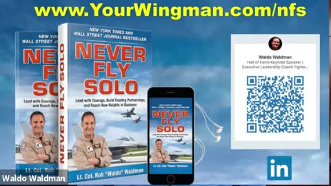 A Message of Hope for America from Lt. Colonel Waldo Waldman (Ret. Air Force)