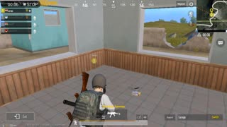 Pubg Mobile Game 4 Enimies Poshinki survivor skills inside House