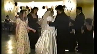 Bride And Groom Get Down On Wedding Day