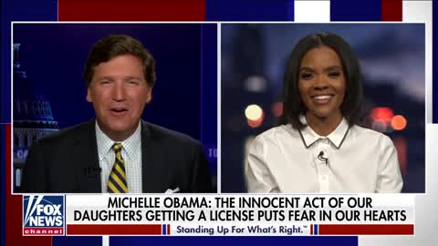 "Candace Owens Joins Tucker to ANNIHILATE Michelle Obama for Claiming She's ""Suffering"""