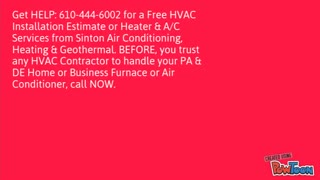 Heating Contractor1 - Video