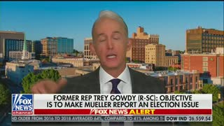 Trey Gowdy says Mueller should have just charged Trump