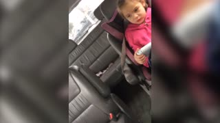 Little Girl Fails At Name Calling - Video