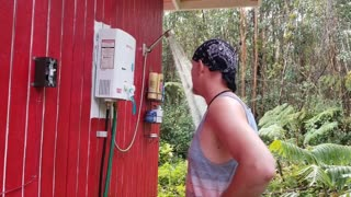 Fixing & Upgrading The Offgrid Shower