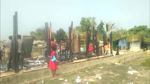 Second major fire hits Rohingya refugee camps