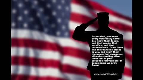 Veteran's Prayer