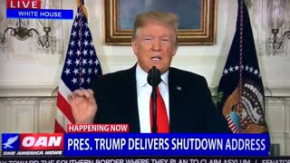 President Donald Trump proposes deal to end ongoing government shutdown