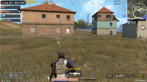 Team Mates Try To Revive His Leader In Pubg Mobile