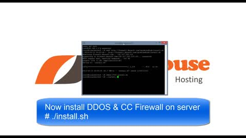 [VPS House] How to Install DDOS & CC Firewall on Linux Servers?