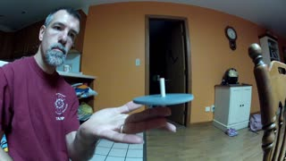 Cool spinning top serves many purposes - Video