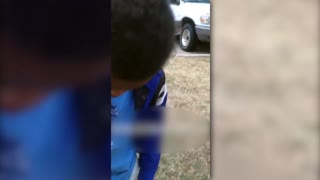 Good Samaritan Warns Boys Playing With Guns In The Street - Video