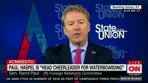 Sen. Rand Paul: People 'Eager for War' Shouldn't Be Running State Department or CIA