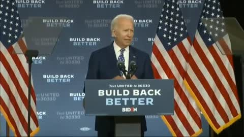 Joe Biden Forgets Where He Is And Claims It's A Joke