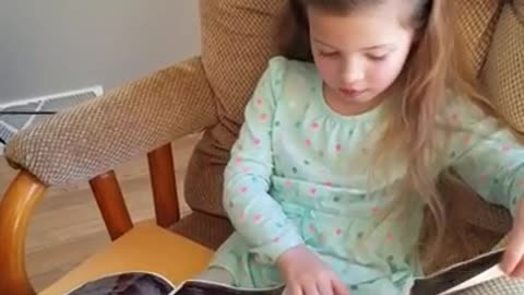 Girl can't contain tears upon hearing baby sister news