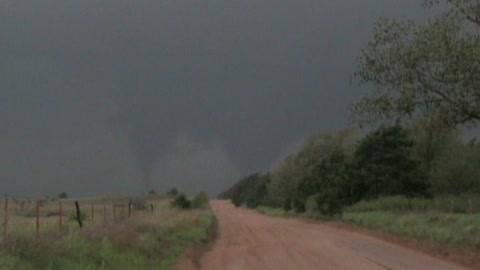 2007 Tornado Highlights - TX, NM,  KS