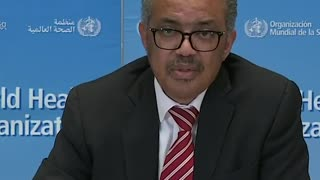 WHO director-general responds to Trump criticism