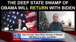 The Deep State Swamp of Obama Will RETURN With Joe Biden...