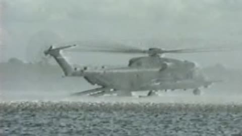 MH-53 PAVE LOW Day Water Operations