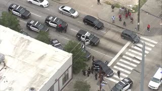 Houston Police Chase Leads to Foot Bail and a Scuffle Ensues