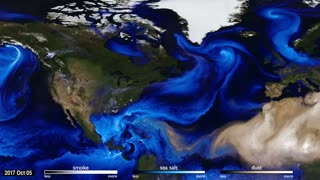 NASA Releases Incredible Visual Simulating 2017's Hurricanes - Video