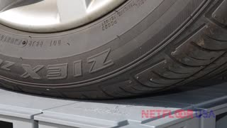 Will it Support a Car? Netfloor USA ECO Cable Management Access Floor - Video