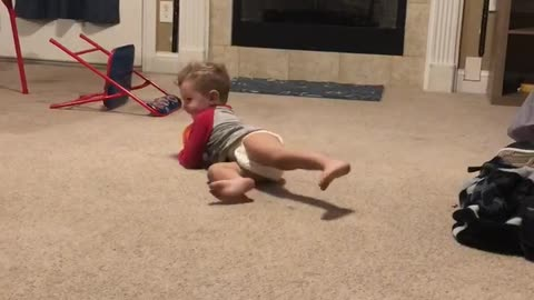 """2 year olds """"Loose Ball Drill"""""""