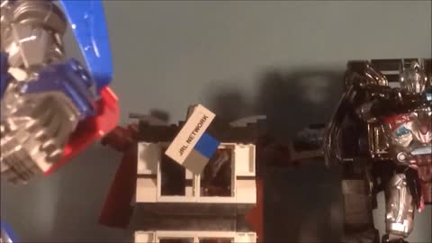 STOPMOTION CiiC Transformers TLK Knock Off Upscale OP Music