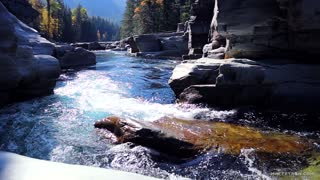 Relaxing Nature Sounds Water, Glacier National Park