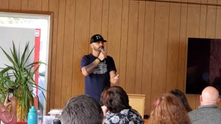 Joey Gibson speaks: People in the US are not putting their faith in God.