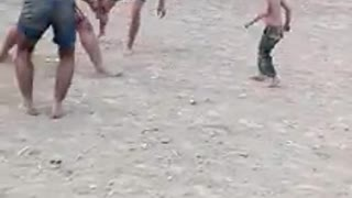 Small boy playing kabadi .. what a video - Video