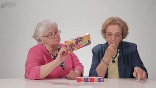 Watch Grandmas Try the Bean Boozled Challenge! - Video