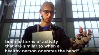 Brain-Controlled Hand Exoskeleton - Video