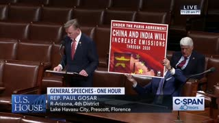Rep Paul Gosar Burns House Democrats On Climate Action Now Act